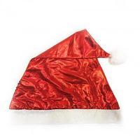 Красный новогодний колпак из полиэстера