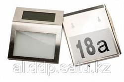 Указатель номера дома с подсветкой и солнечной батареей - Мой дом