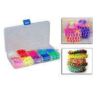 Радужки (Rainbow Loom) - набор для вязания из резинок
