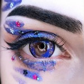 Фиолетовые линзы Galaxy Violet (2шт)