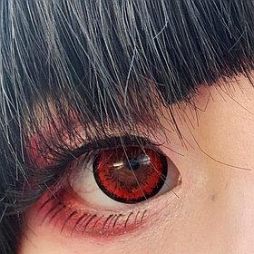 Красные линзы Tokyo Red(2шт)