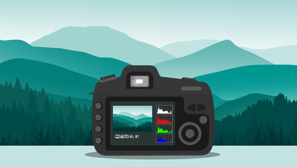 Как читать гистограмму вашей камеры №1