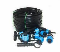 Система капельного автоматического полива - Автополив-100, 100 метра на 200 м грядок