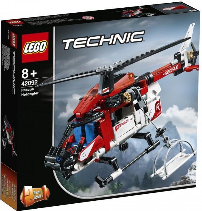 Конструктор LEGO Спасательный вертолёт TECHNIC 42092