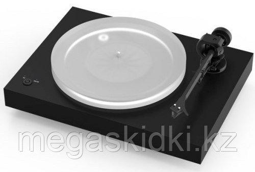 Виниловый проигрыватель Pro-Ject X2 Black 2M Silver Черный лак