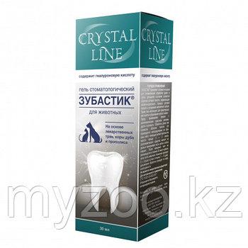 CRYSTAL LINE Зубастик Гель стоматологический для животных, 30 мл
