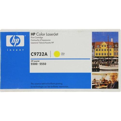 Лазерный картридж HP C9732A (Yellow, на 12000 стр)