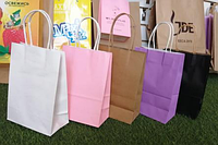 Пакеты упаковочные с ручками 21х15х8 см