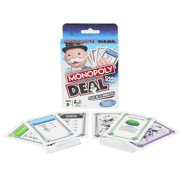 """Hasbro Games Карточная игра """"Монополия: Сделка"""""""