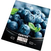 Весы кухонные Centek CT-2462 (Голубика) электронные
