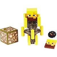 Minecraft Фигурка Майнкрафт Ифрит с аксессуарами, 7 см