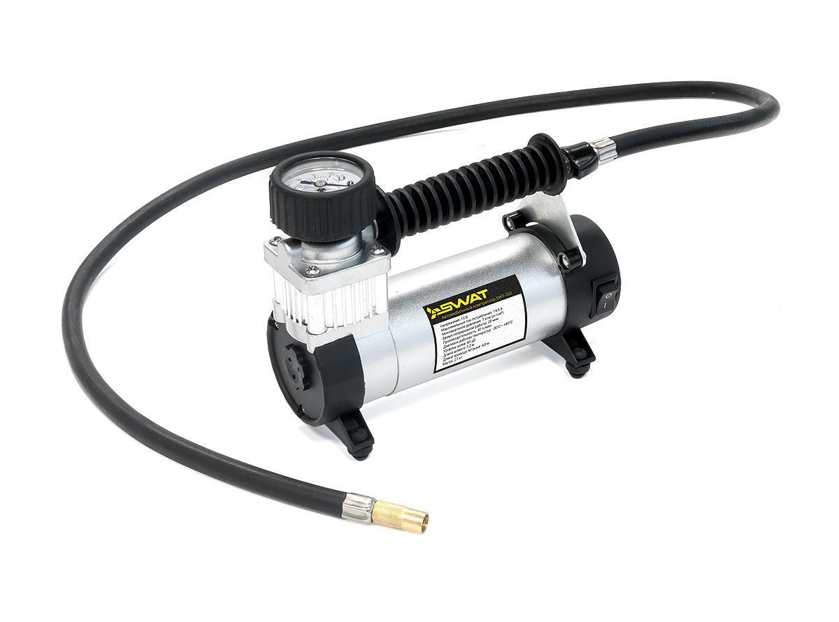 Автомобильный компрессор (насос)  Swat SWT-102