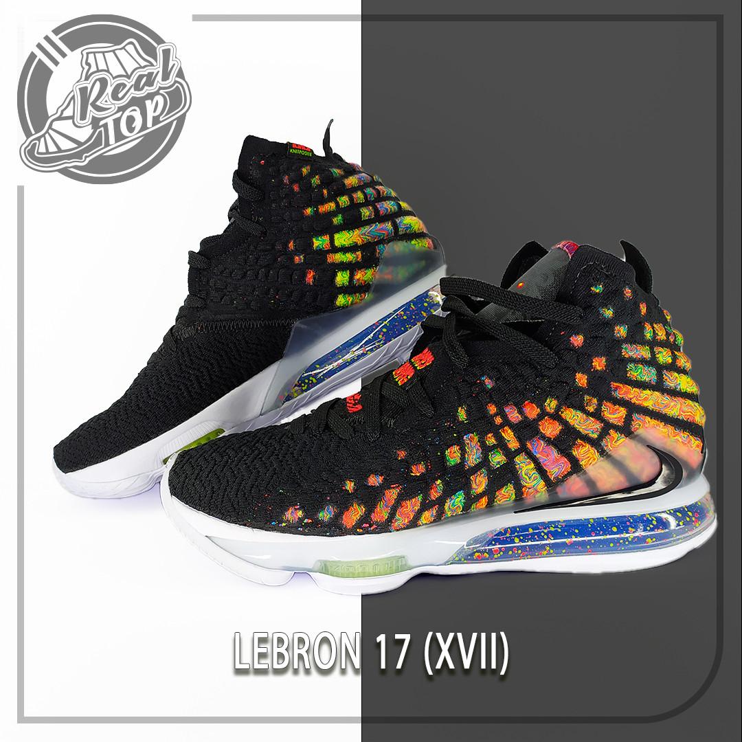 Баскетбольные кроссовки Nike Lebron 17 XVII (оригинал)