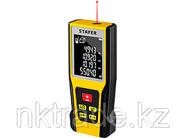 """Дальномер лазерный, """"LDM-60 """", дальность 60 м, 5 функций, STAYER Professional, 34957"""