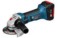 Аккумуляторная углошлифмашина 18 В GWS 18-125 V-LI Bosch