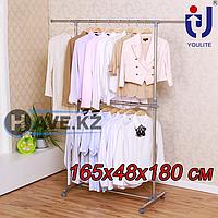 Напольная вешалка для белья, складная, Youlite-0301H, размер 165х48х180 см, фото 1