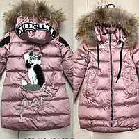 Шикарные зимние курточки серия Лисичка