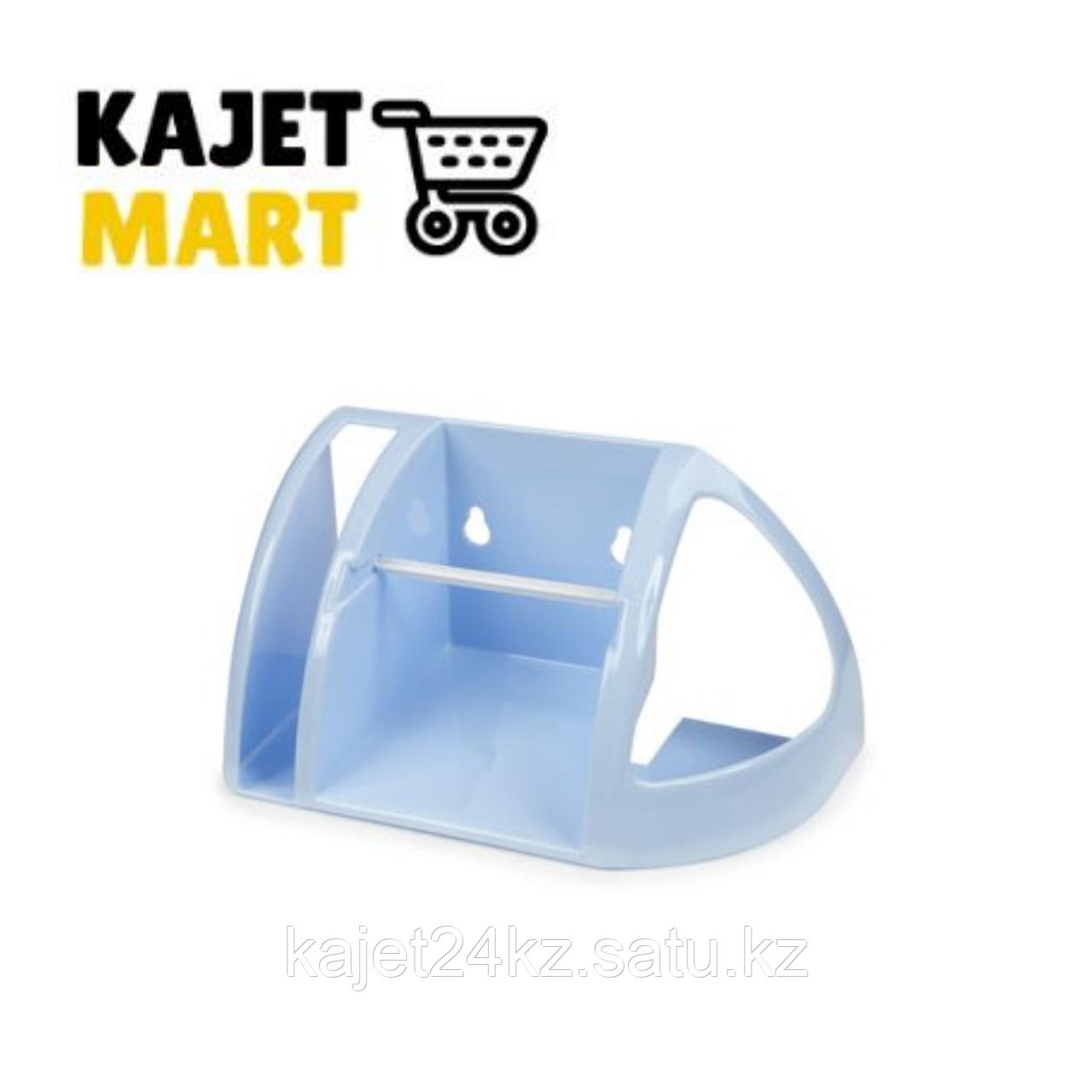 Полка для туалета (светло-голубой)