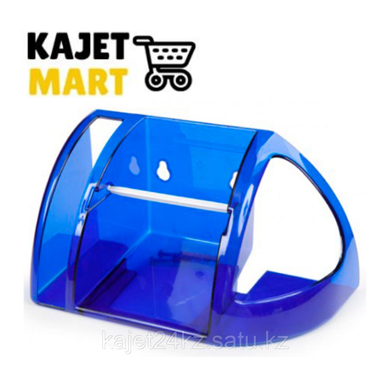 Полка для туалета (синий полупрозрачный)