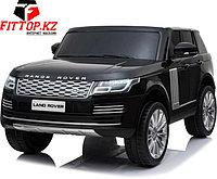 Детский электромобиль RiverToys Range Rover HSE черный