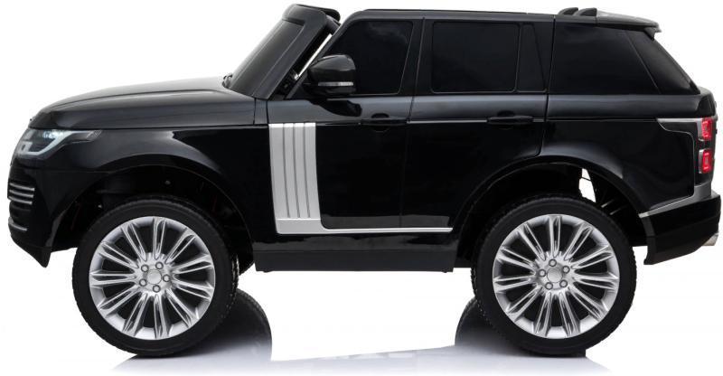 Детский электромобиль RiverToys Range Rover HSE черный - фото 3