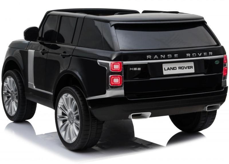 Детский электромобиль RiverToys Range Rover HSE черный - фото 4