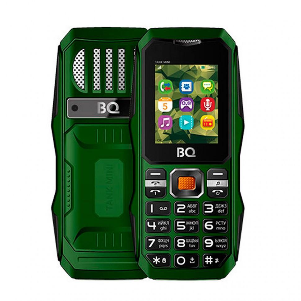 Мобильный телефон BQ-1842 Tank mini Темно-Зеленый