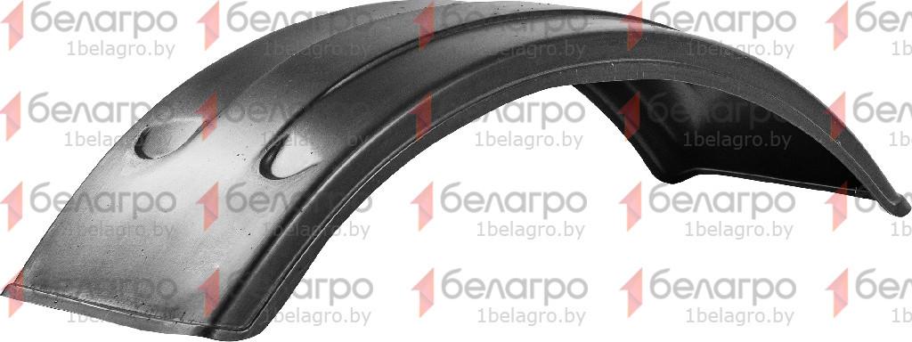 80-8403041 Крыло МТЗ переднее УК широкое (черное, пластик), РФ