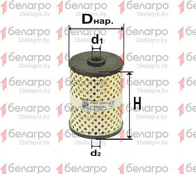 6303 Фильтр топливный СМД-31, 24, 14, Беларусь