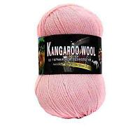 Пряжа Color City Пряжа Color City Kangaroo wool Цвет.2107 Светло розовый