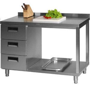 столы, шкафы, стеллажи производственные