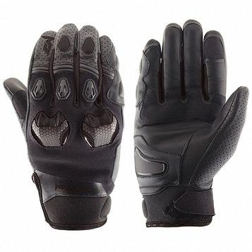 Перчатки кожаные Stinger черные, L