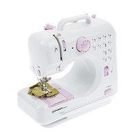 Швейная машинка FIRST FA-5700-2, 12 операций, полуавтомат, от батареек/сети, бело-фиолетовая