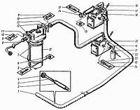 Установка насосов (редуктор) без насоса 5124 11-08-000
