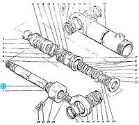 Шток стрелового гидроцилиндра Э4.05.30.001-01 на экскаваторы ЭО–5126