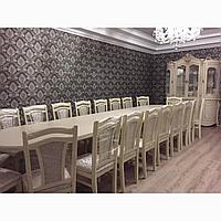 Стол со стульями для ресторанов и гостиных (по индивидуальному заказу)