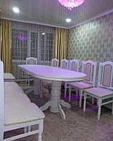 Обеденная группа на 12 персон (стол + стулья для гостиных и ресторанов)
