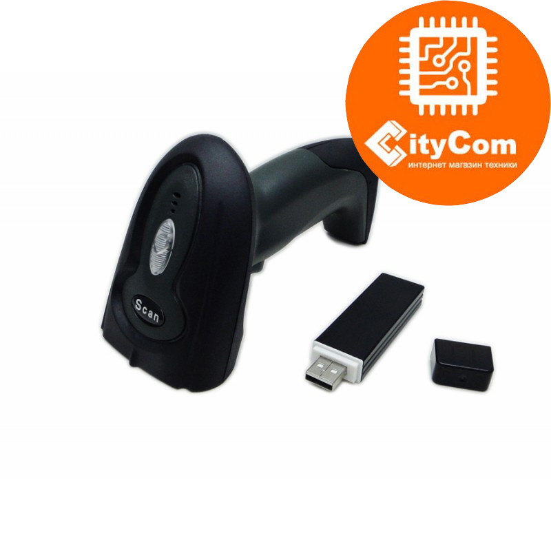 Сканер штрих-кодов Sunphor SUP8900C, CCD, беспроводной, 433MHz