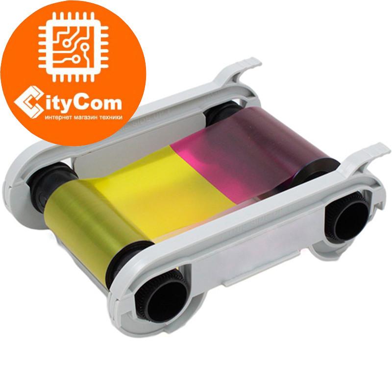 Картридж цветной для принтеров пластиковых карт Evolis Primacy Simplex & Duplex R5F008S14 - YMCKO Арт.4674