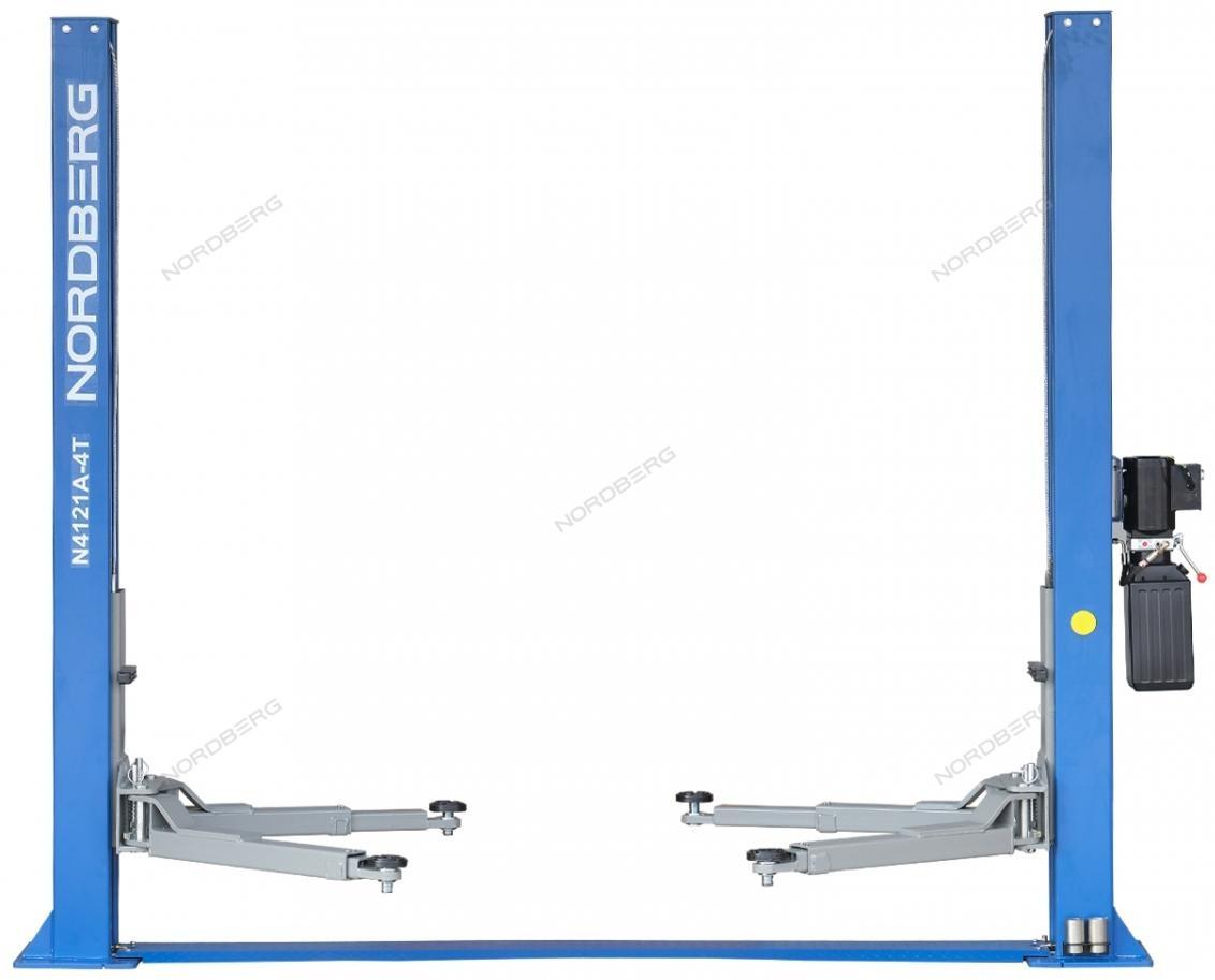 Подъемник двухстоечный, г/п 4т (380В) NORDBERG