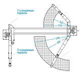 Подъемник двухстоечный, г/п 4т (380В) NORDBERG, фото 2