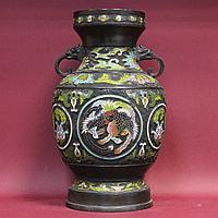 Ваза с изображением феникса. Китай. I половина XX века