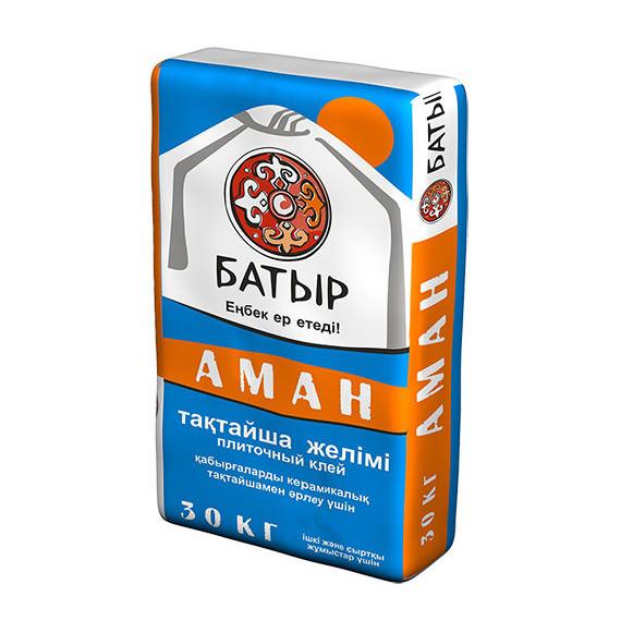 Клей плиточный Батыр «Аман»