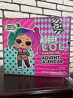 Кукла Лол в Адвент календаре Lol surprise Advent Calendar