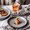 Керамическая глазурованная тарелка 19см, фото 2