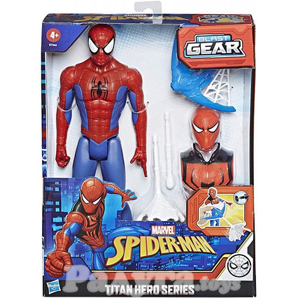 Фигурка Человек-Паук с аксессуарами Hasbro (E7344)
