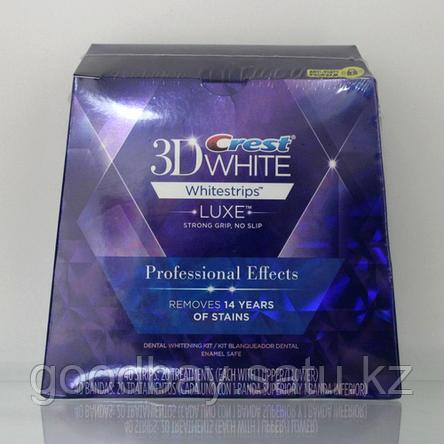 Отбеливающие полоски Crest 3D White Luxe Whitestrips Glamorous White, фото 2