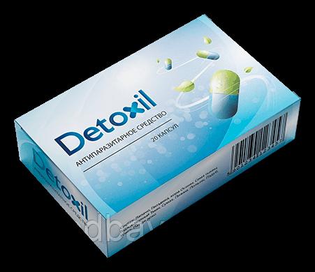 Детоксил (Detoxil) капсулы от паразитов, фото 2