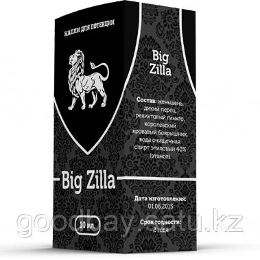 Big Zilla капли для потенции, фото 2