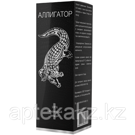Капли Аллигатор для потенции, фото 2